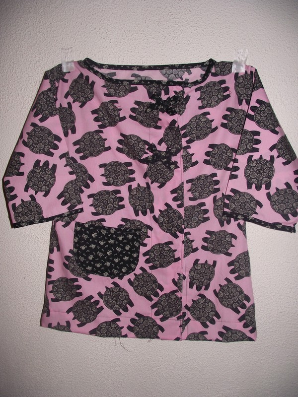 la blouse tortue