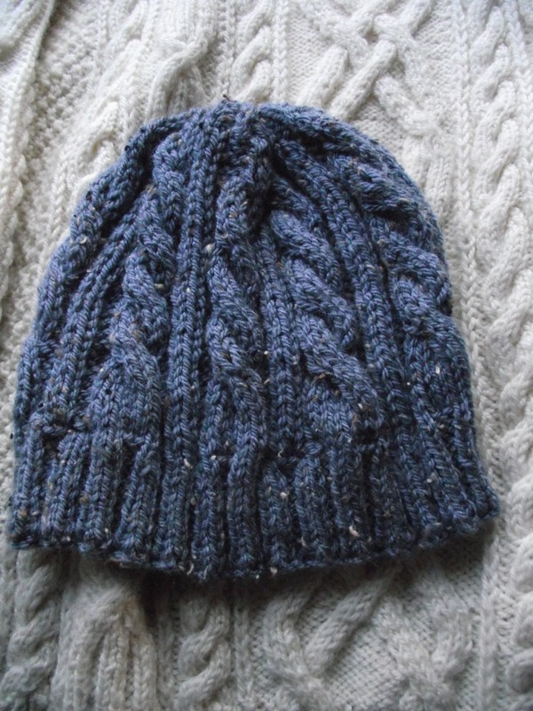 modele tricot bonnet femme torsade